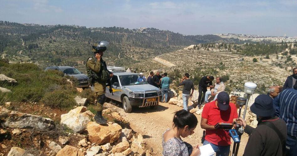 Ordine di demolizione ad una famiglia palestinese di al-Walajeh