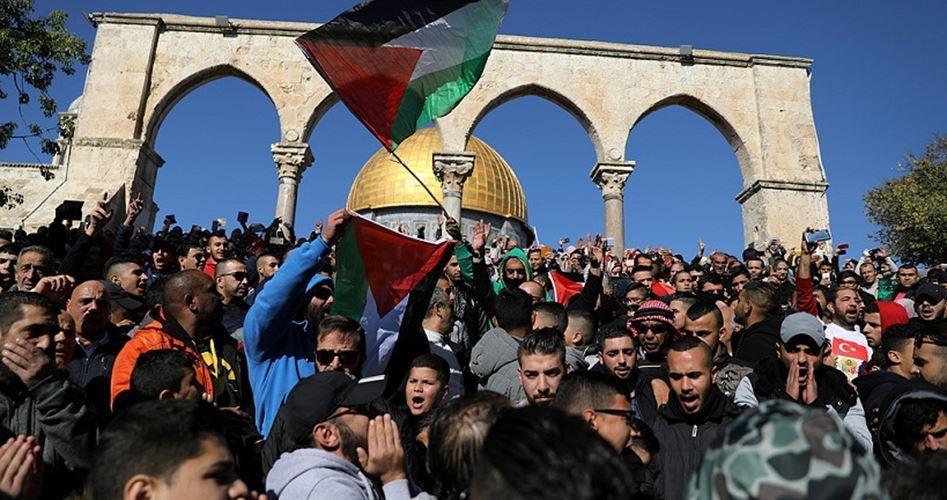 Manifestazione di un milione di persone a Gaza contro dichiarazione di Trump su Gerusalemme