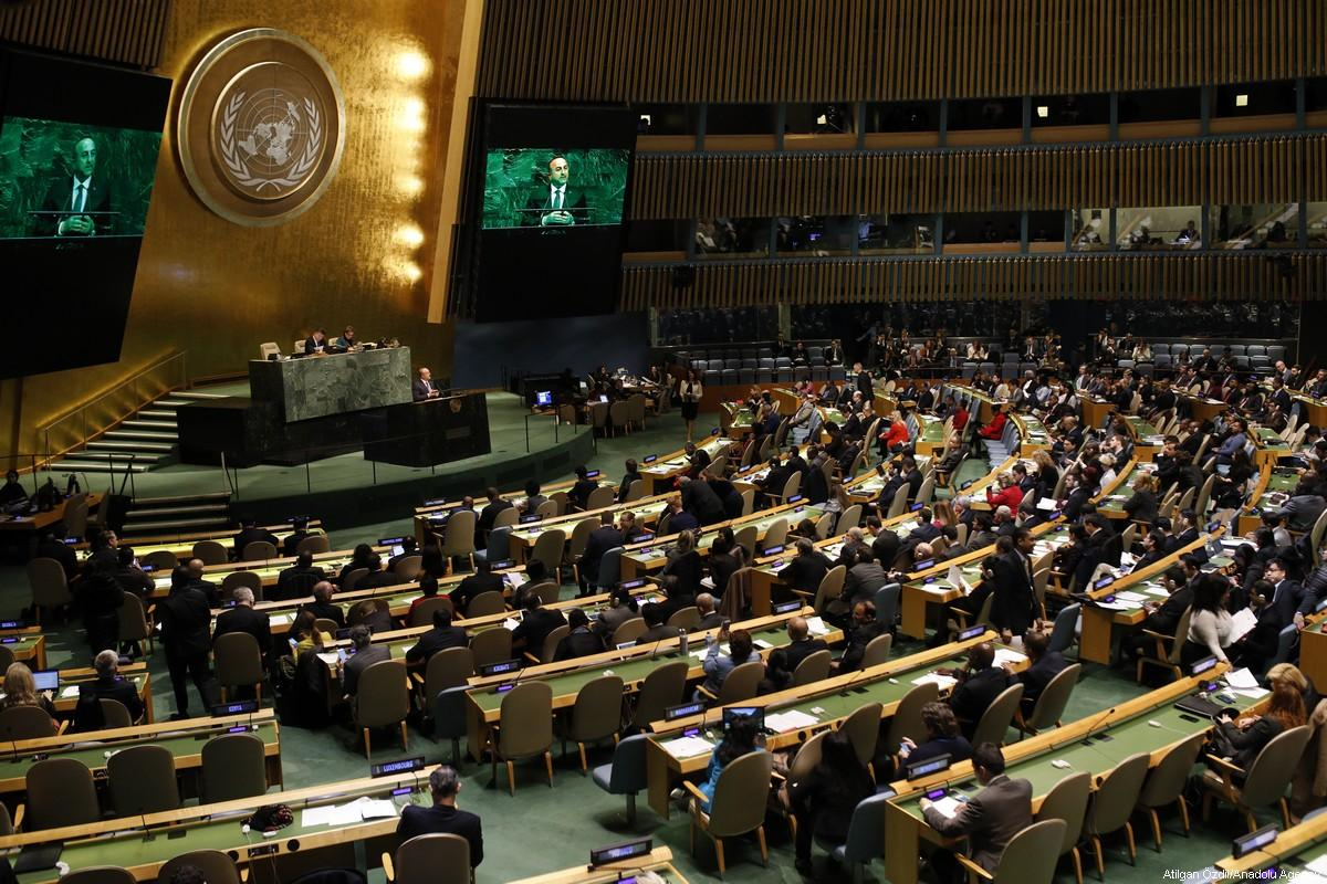 L'Assemblea Generale dell'ONU vota contro la decisione di Trump su Gerusalemme