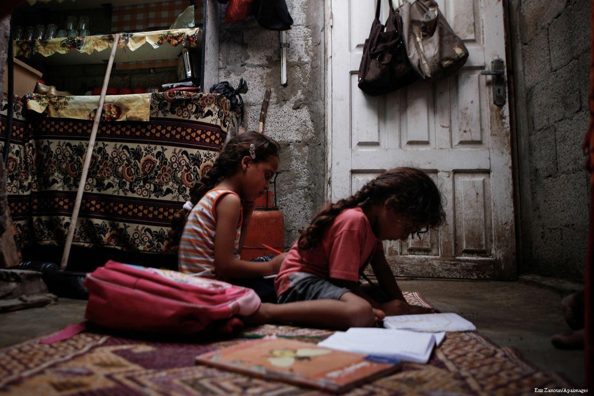 La Striscia di Gaza sotto assedio: area disastrata