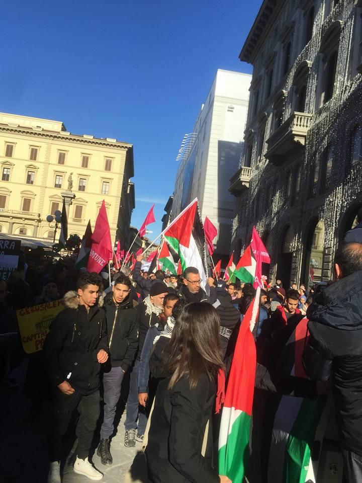 Manifestazione per Gerusalemme in diverse città italiane