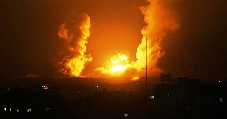 Attacchi aerei israeliani contro la Striscia di Gaza