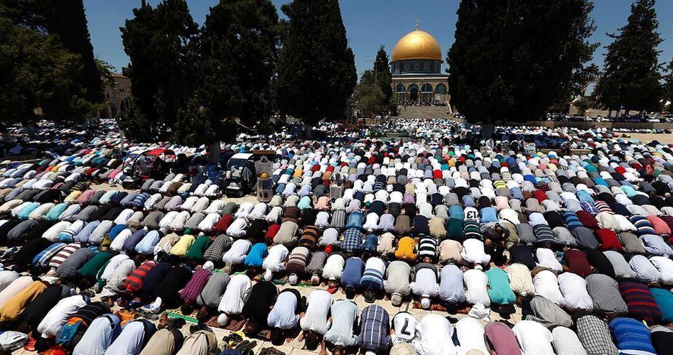 Gerusalemme, 45.000 palestinesi hanno pregato a al-Aqsa