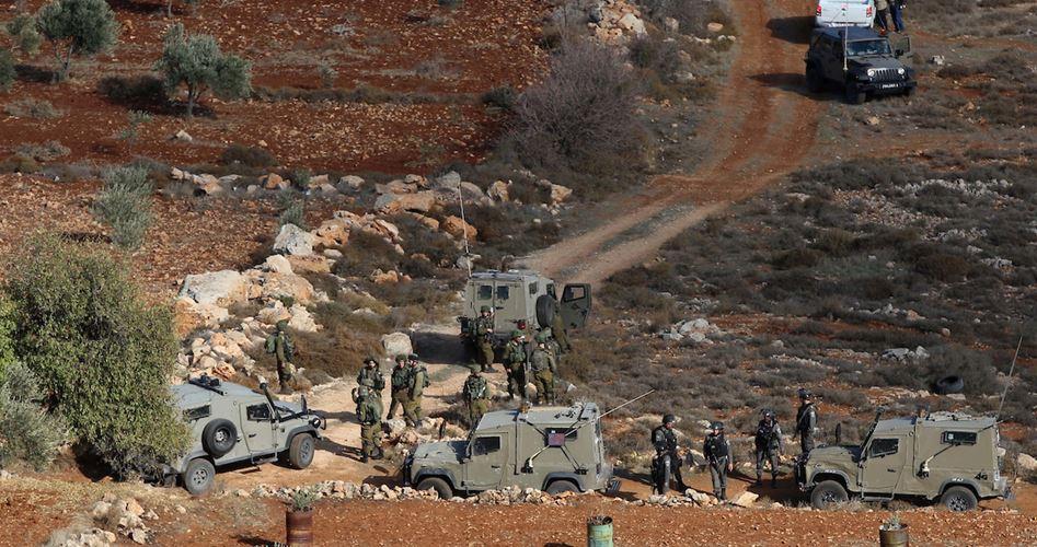 Decine di Palestinesi asfissiati e feriti durante scontri con le forze di occupazione