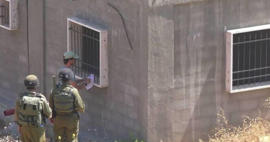 13 ordini di demolizione per le case vicino a Qalqiliya
