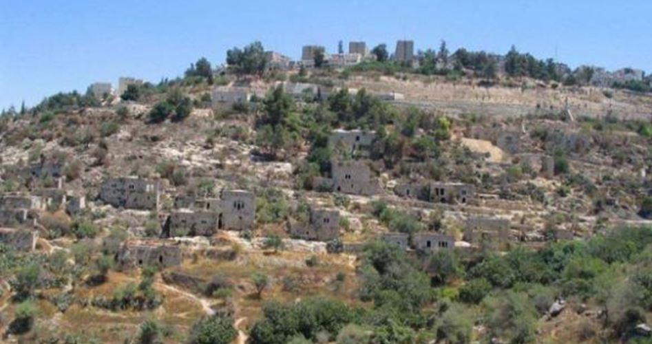 Nel 2017, l'occupazione ha confiscato 9784 dunum in Cisgiordania e a Gerusalemme
