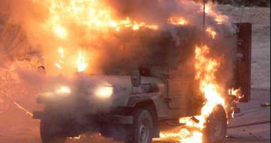 Le forze israeliane rafforzano i controllo dopo attacco Molotov