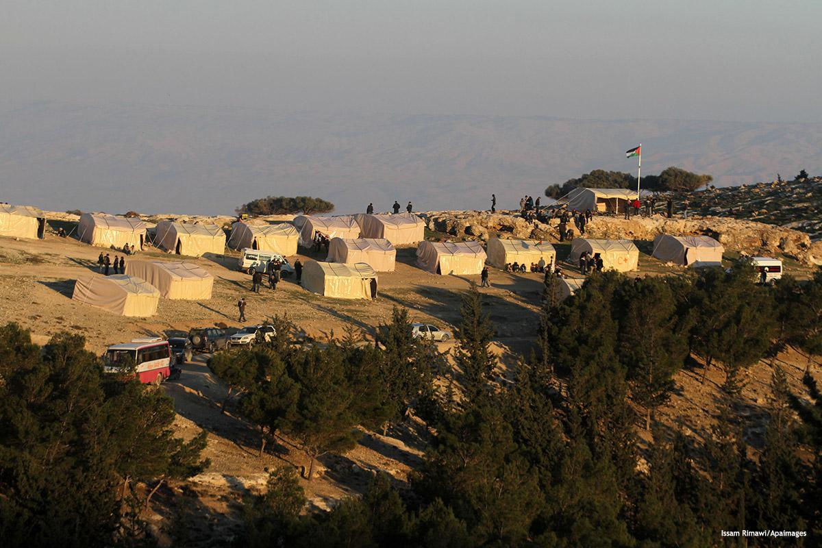 """Israele esorta Pence a sostenere l'insediamento della """"zona industriale"""" nell'area E1 in Cisgiordania"""