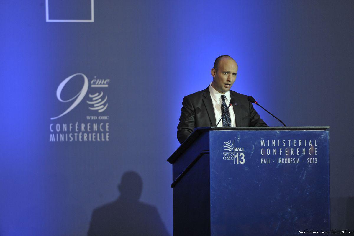 """Ministro israeliano per l'Educazione: """"l'era dello stato palestinese è finita"""""""