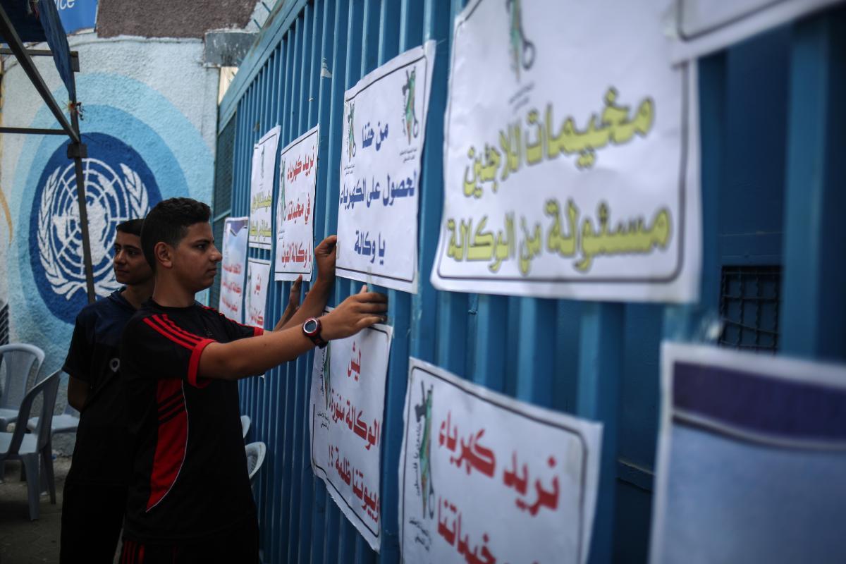 Crisi elettrica a Gaza: gettate vie 182 tonnellate di cibo deteriorato