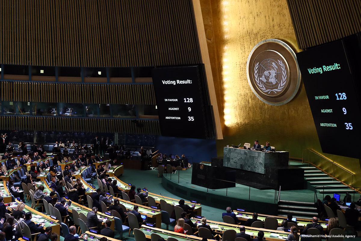 L'ONU finalmente libera dal ricatto diplomatico degli USA?