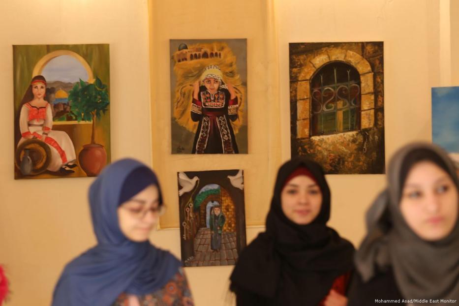 Mostra a Gaza: artiste si esprimono su questioni nazionali e personali