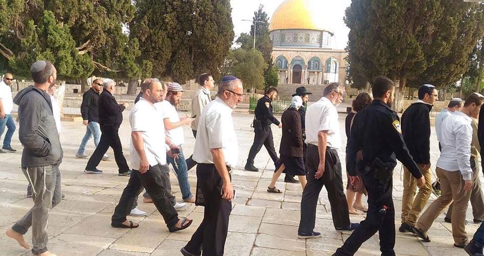 26.000 coloni hanno invaso al-Aqsa nel 2017