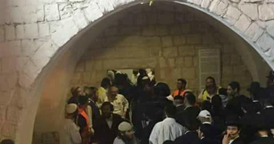 Centinaia di coloni invadono la città di Nablus