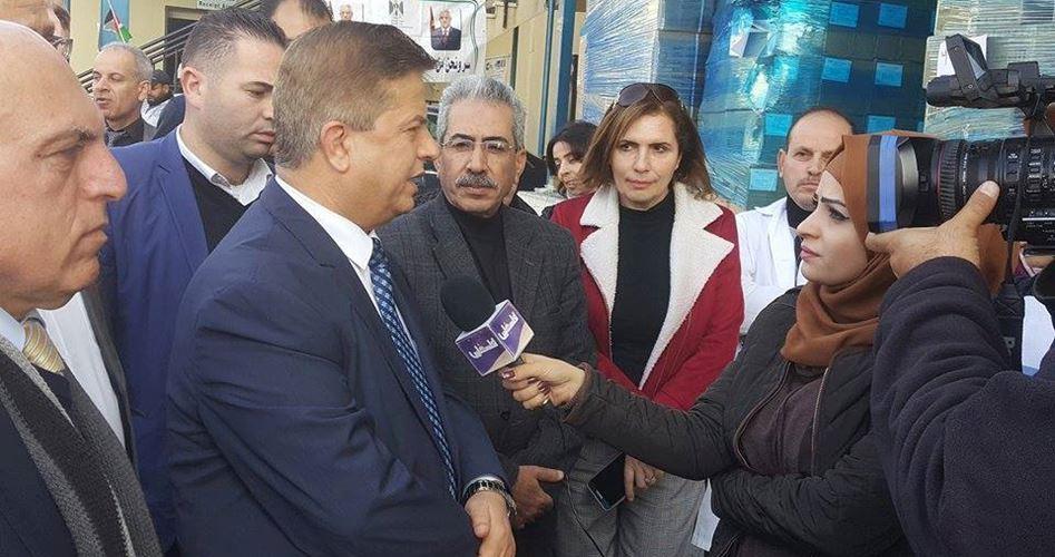 Il ministro della Sanità invia rifornimenti medici a Gaza