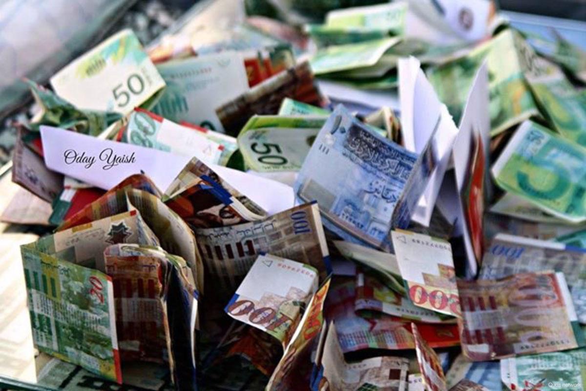 Israele sottrae ingenti quantità di denaro ai Palestinesi