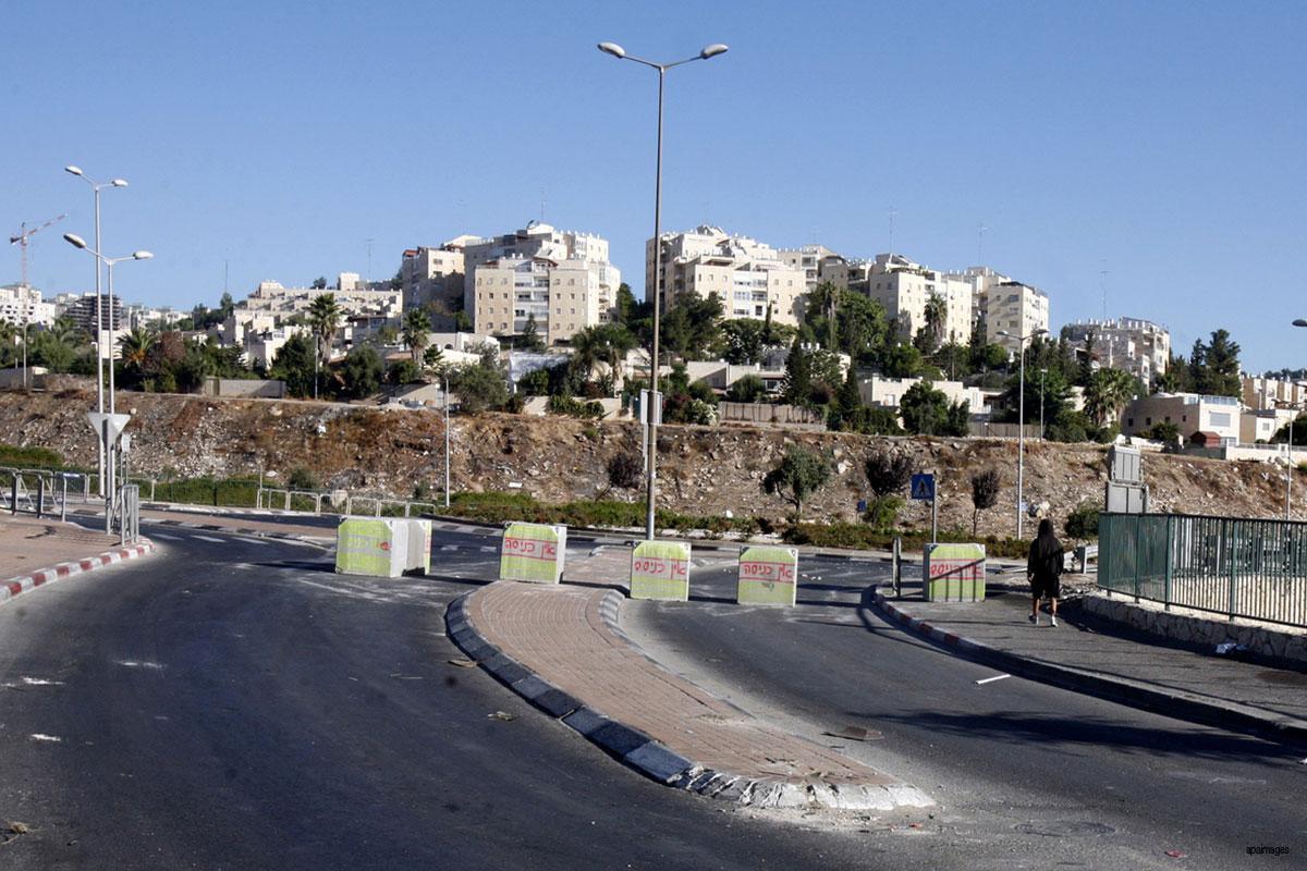 Apartheid israeliano: approvata la costruzione di strade per soli coloni in Cisgiordania
