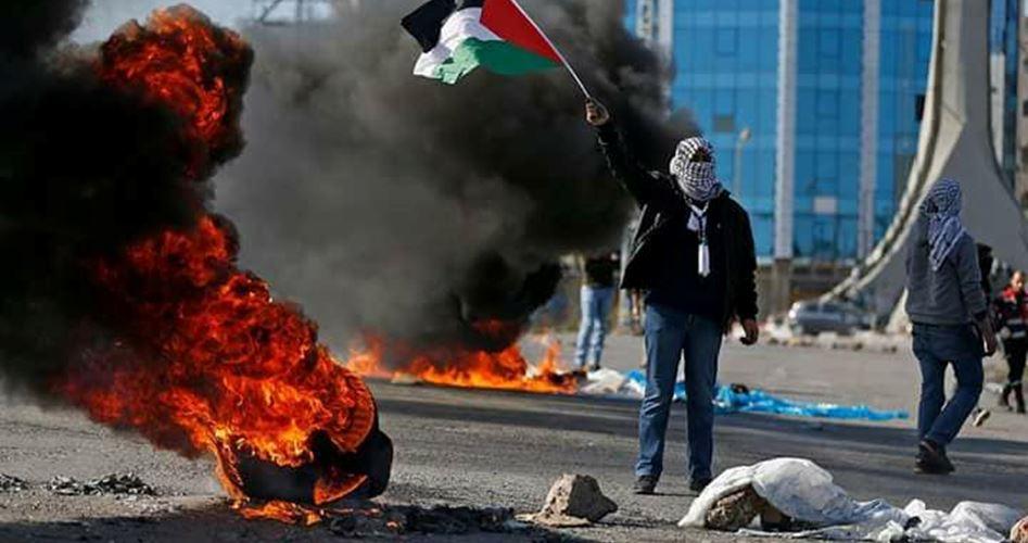 Scontri a Salem con le forze di occupazione: 1 Palestinese ferito e 3 asfissiati