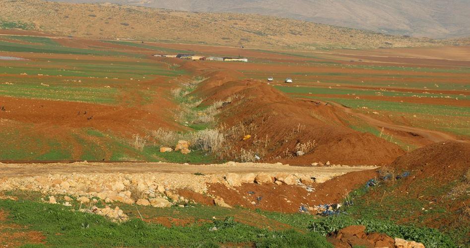 Atouf, capolavoro naturale contaminato dagli insediamenti illegali israeliani