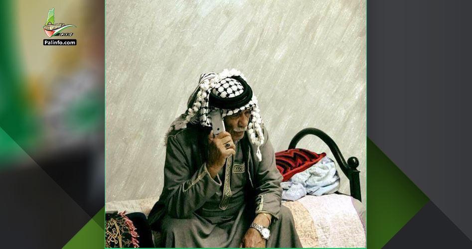 L'esercito israeliano rapisce Palestinese di 92 anni