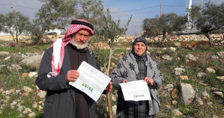 La storia di una donna palestinese la cui terra è stata confiscata dagli Israeliani