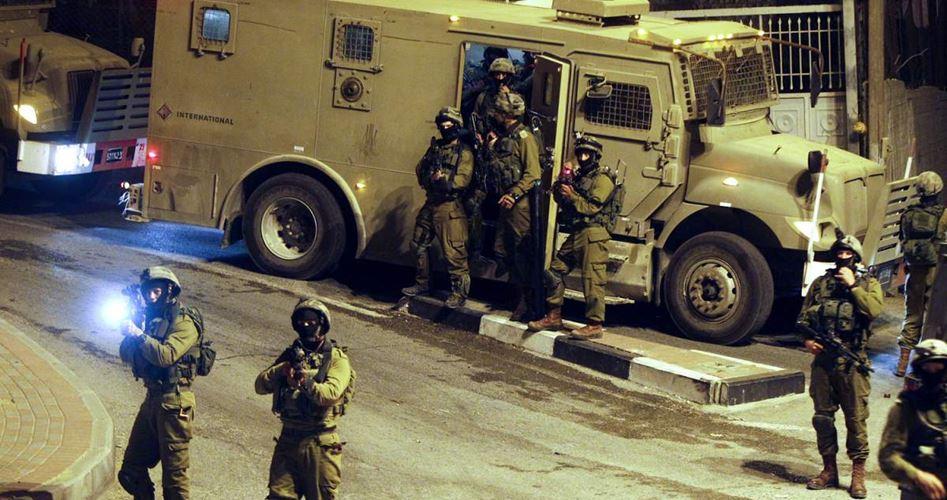 L'esercito israeliano invade Hebron