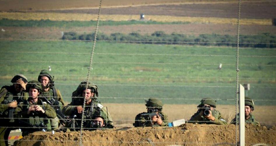 Allerta delle forze israeliane al confine con la Striscia di Gaza