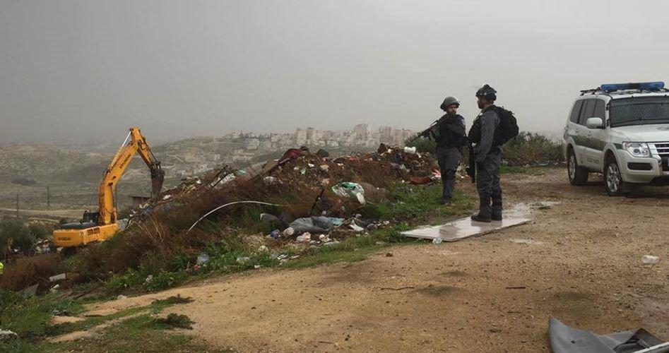 Case palestinesi finanziate dall'Europa demolite da Israele: 13 Palestinesi senzatetto