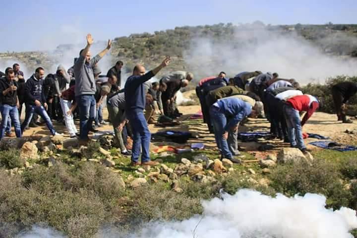 Proteste anti-coloniali nel distretto di Ramallah, diversi nativi feriti dall'occupazione