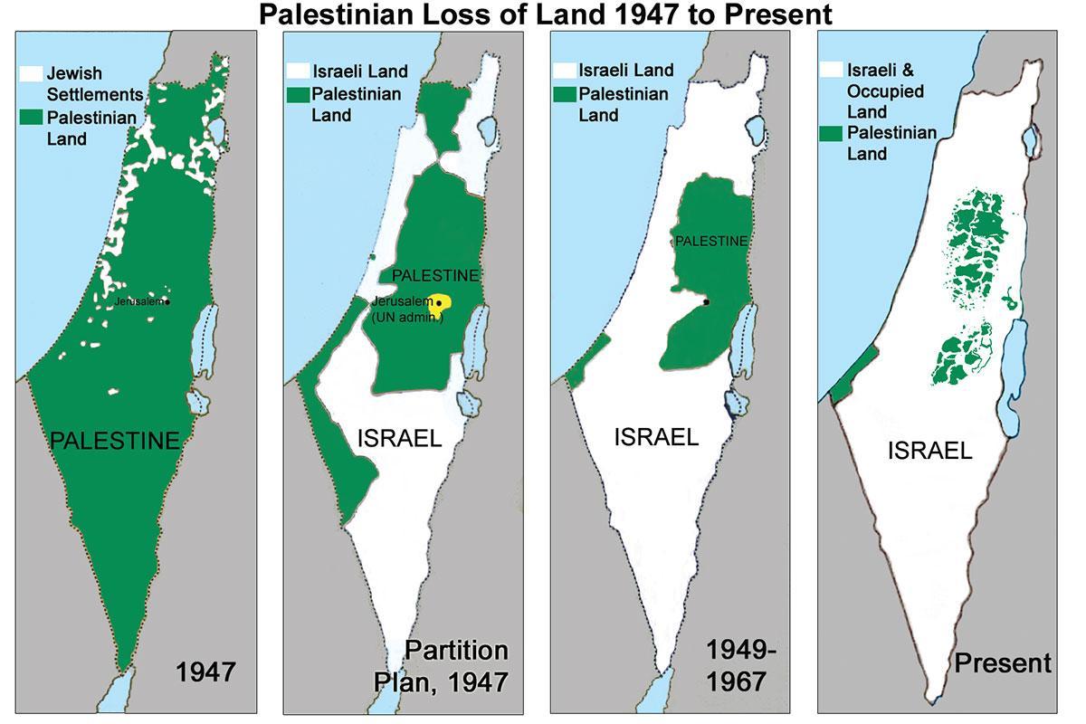 Israele si rifiuta di rivelare i confini della Linea Verde