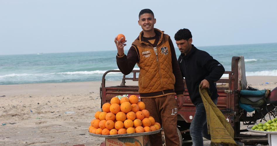 Venditori a Gaza: la professione cambia ma l'assedio rimane lo stesso