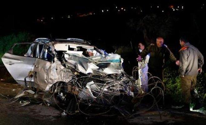 Due israeliani uccisi in attacco automobilistico a Jenin