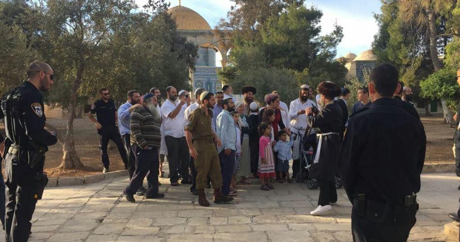 Gerusalemme, 200 coloni israeliani irrompono a al-Aqsa