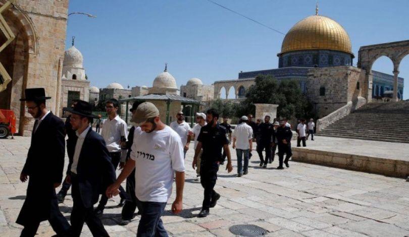 Gerusalemme, 2000 coloni hanno invaso al-Aqsa negli ultimi giorni