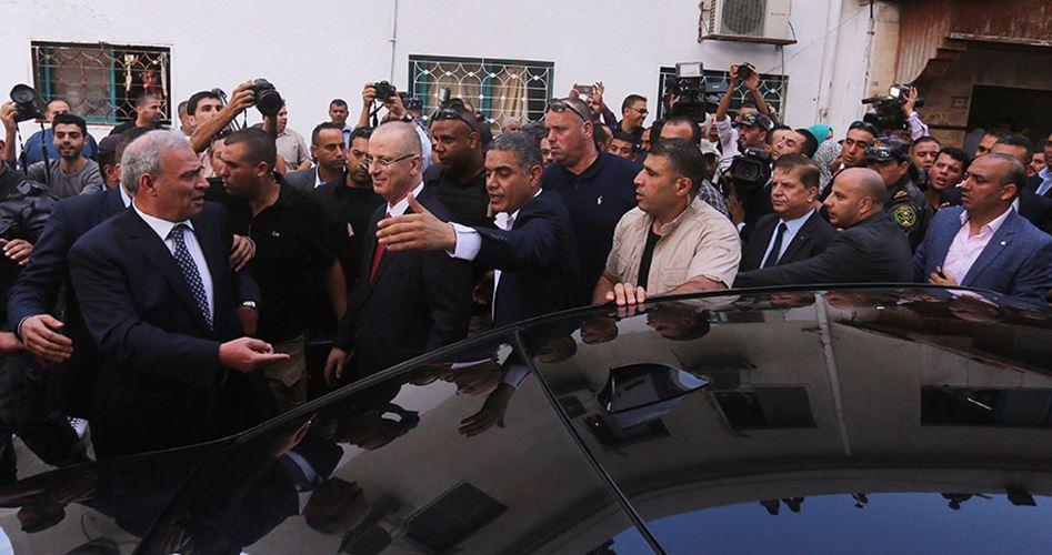 Le fazioni palestinesi condannano l'attacco al convoglio dell'ANP a Gaza