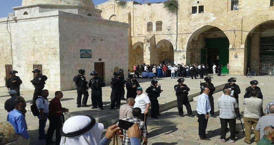 86 coloni israeliani invadono i cortili di al-Aqsa