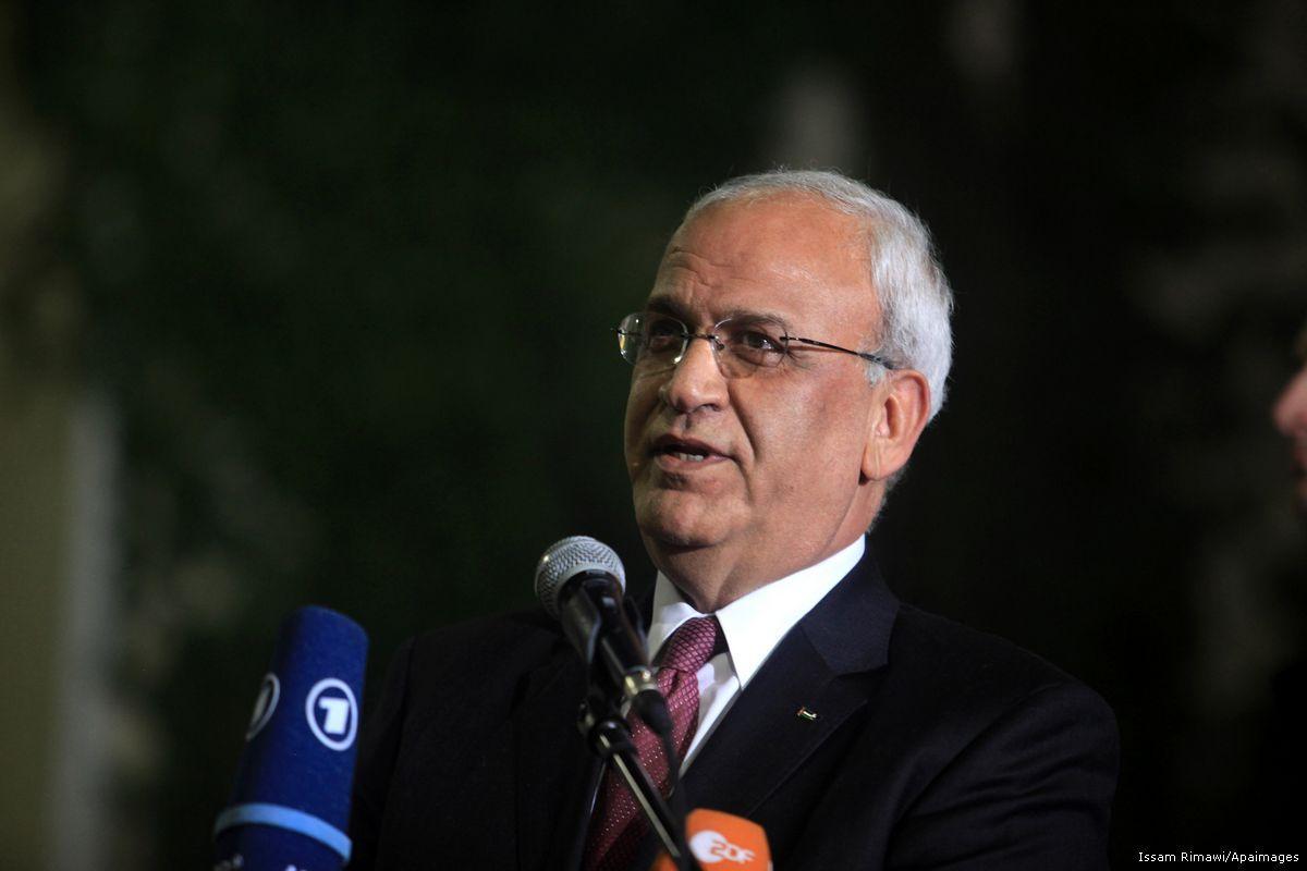 Erekat: gli USA stanno preparando la creazione dello Stato di Gaza