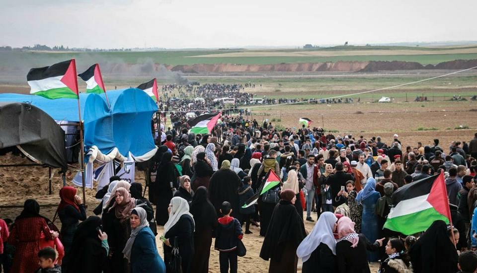 Giornata della Terra nella Striscia di Gaza: 17 Palestinesi uccisi e oltre 2000 feriti