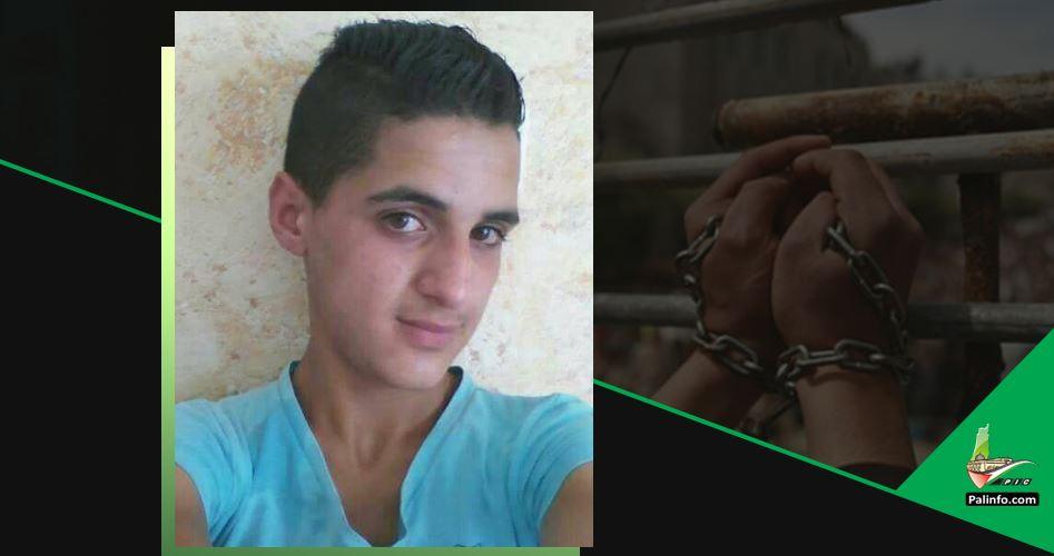Ragazzino arrestato dalle forze di occupazione al check-point di Nablus