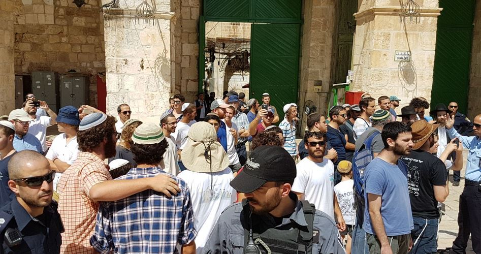 Le organizzazioni ebraiche celebreranno la Pasqua alla Moschea al-Aqsa