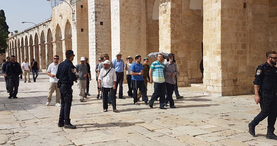 250 coloni estremisti invadono al-Aqsa