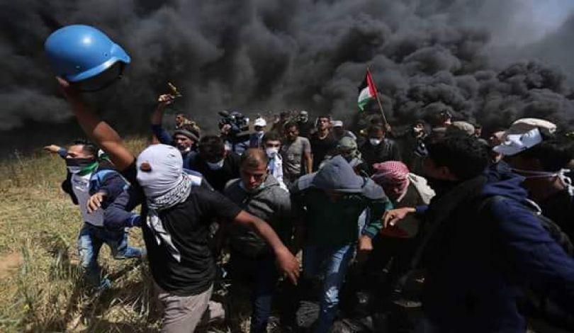 Ministero della Sanità: 3078 Palestinesi feriti durante manifestazioni della Grande Marcia del Ritorno