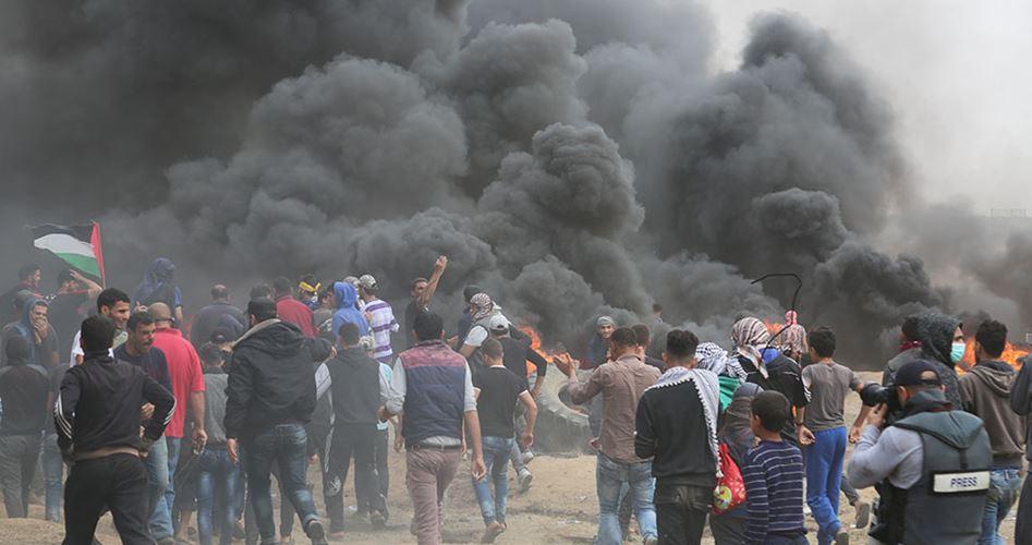 Striscia di Gaza, 4 palestinesi uccisi e 645 feriti dal fuoco israeliano
