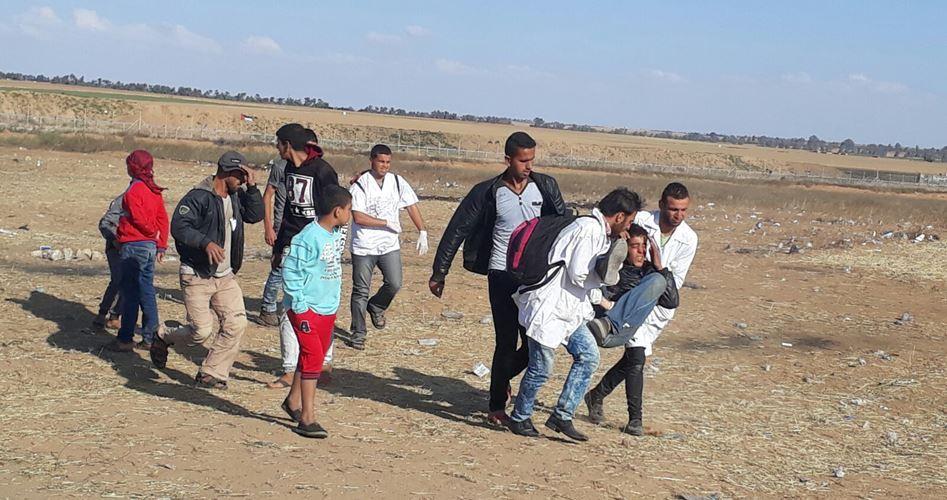 Due Palestinesi feriti dalle forze israeliane nella Striscia di Gaza