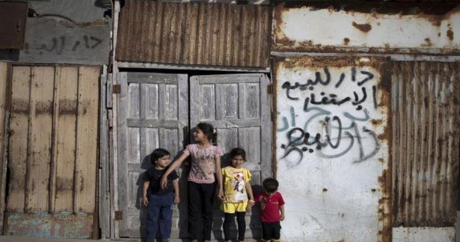 Metà della Striscia di Gaza soffre per la povertà