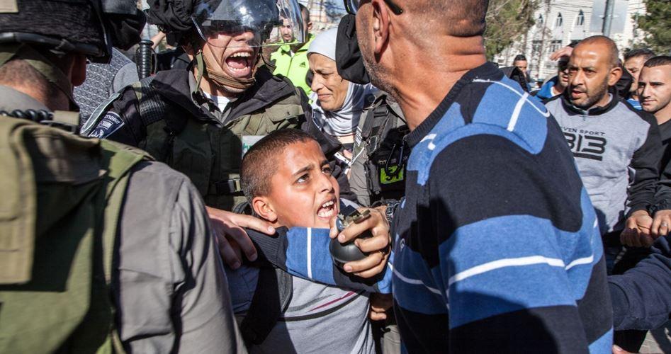 Dal 2015, 300 ordini di arresti domiciliari contro minorenni palestinesi