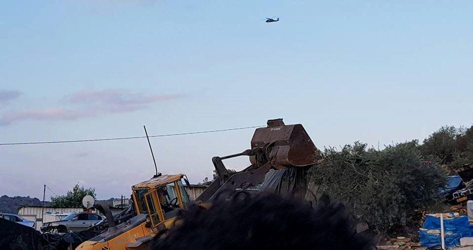 Due case palestinesi demolite nel distretto di Gerusalemme