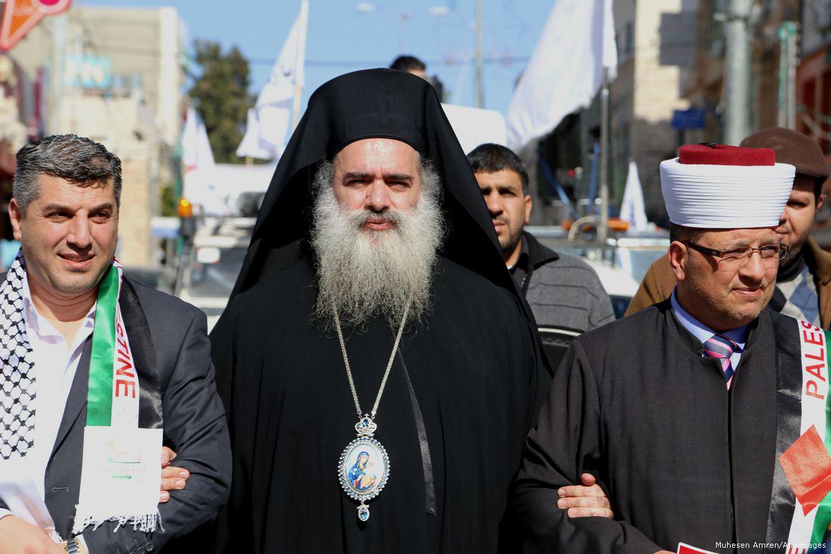 Abbas ha espulso l'Arcivescovo Hanna dal PNC a favore del progetto USA-Israele