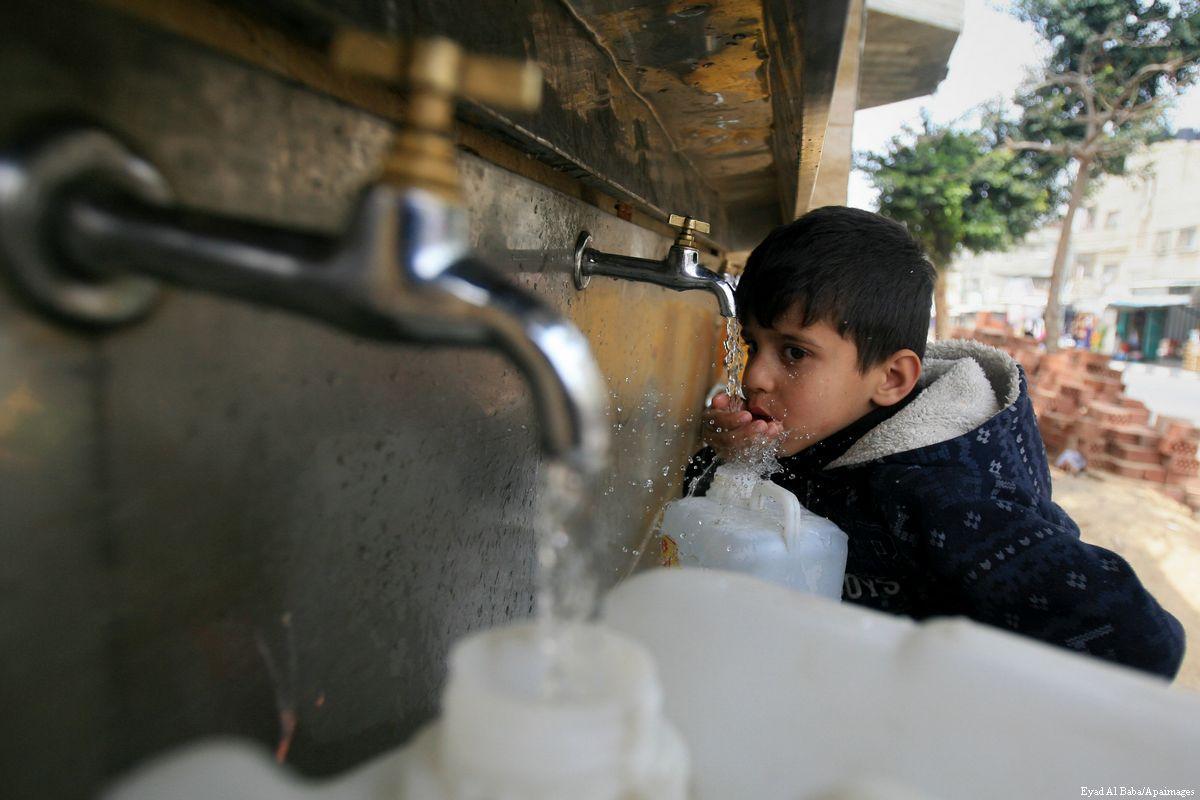 UNICEF: meno del 4% delle risorse idriche di Gaza è potabile