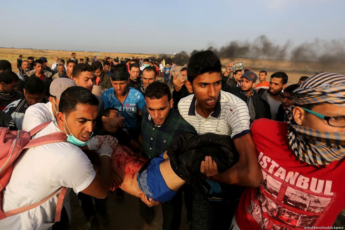 350 feriti nel 3° venerdì di proteste nella Striscia di Gaza